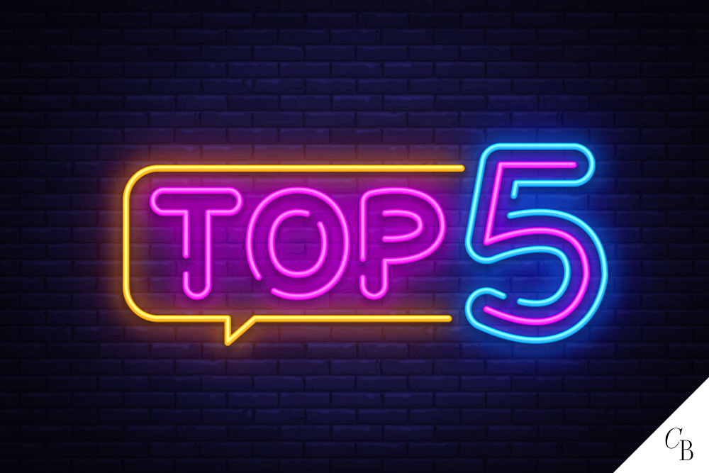 Top 5 Charts of the Day - January 29th 2021 | Christophe ...